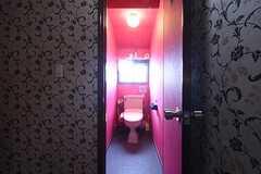 ウォシュレット付きトイレの様子。(2016-09-07,共用部,TOILET,2F)