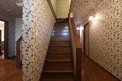 207、208、209号室の階段の様子。(2016-09-07,共用部,OTHER,2F)