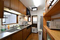 キッチンの様子。(2017-10-04,共用部,KITCHEN,1F)