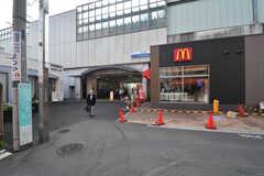 西武池袋線・桜台駅の様子。(2017-10-04,共用部,ENVIRONMENT,1F)