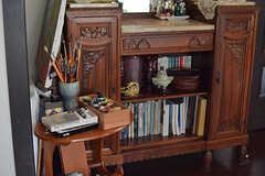 オーナーさんは絵を描くのが好きだそう。(2016-08-08,共用部,LIVINGROOM,2F)
