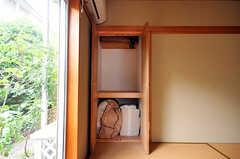 収納の様子。(101号室)(2010-06-09,専有部,ROOM,1F)