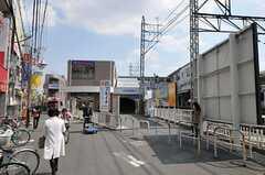 西武新宿線・上石神井駅の様子。(2011-03-25,共用部,ENVIRONMENT,1F)