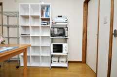 キッチン家電の様子。(2009-04-23,共用部,OTHER,1F)