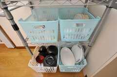 食器はこちらへ。(2009-04-23,共用部,OTHER,1F)