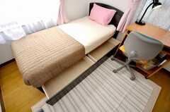 専有部の様子4。ベッド下収納もあります。(101号室)(2009-04-23,専有部,ROOM,1F)