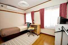 専有部の様子。各室、エアコン横に換気扇が付いている。(104号室)(2009-04-23,専有部,ROOM,1F)