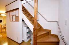 階段の様子。(2009-04-23,共用部,OTHER,1F)