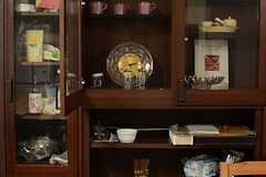 食器棚の様子。(2016-03-15,共用部,LIVINGROOM,1F)