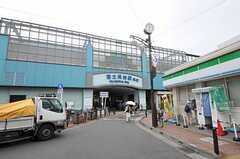 西武池袋線・富士見台駅の様子。(2011-07-26,共用部,ENVIRONMENT,1F)