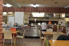 休日のキッチンの様子。(2015-10-24,共用部,KITCHEN,1F)