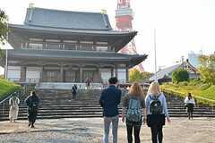 増上寺へのお参りの様子。(2015-10-24,共用部,OTHER,1F)