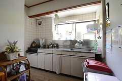 キッチンの様子。(2014-07-17,共用部,KITCHEN,2F)