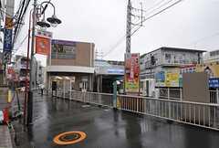 西武新宿線・上石神井駅の様子。(2014-03-24,共用部,ENVIRONMENT,1F)