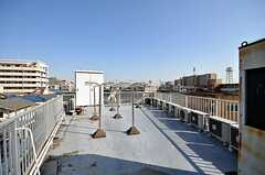 屋上の様子。(2009-02-12,共用部,OTHER,4F)
