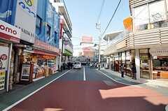 東武東上線・東武練馬駅前の様子。(2009-02-12,共用部,OTHER,3F)