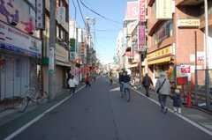 東武東上線東武練馬駅前の様子。(2009-01-05,共用部,ENVIRONMENT,1F)