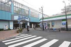 西武池袋線・富士見台駅の様子。(2016-08-10,共用部,ENVIRONMENT,1F)
