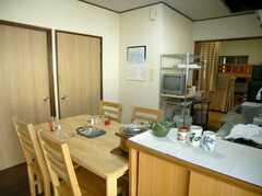 シェアハウスのラウンジ(2007-11-22,共用部,LIVINGROOM,2F)