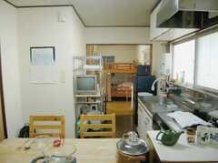 シェアハウスのラウンジ2(2007-11-22,共用部,LIVINGROOM,2F)