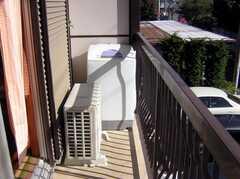洗濯機の様子。(2007-11-22,共用部,LAUNDRY,2F)
