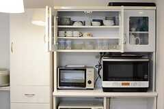 食器棚の様子。(2015-03-16,共用部,LIVINGROOM,1F)