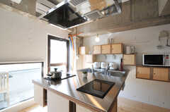 専用設計の造作キッチンです。(2011-03-18,共用部,KITCHEN,3F)