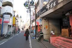 西武池袋線・江古田駅周辺の様子。(2011-03-18,共用部,ENVIRONMENT,1F)