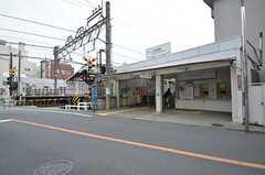 西武新宿線・上井草駅の様子。(2015-05-14,共用部,ENVIRONMENT,1F)