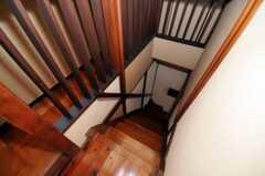 階段の様子。(2010-09-01,共用部,OTHER,2F)