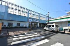 西武池袋線・富士見台駅の様子。(2020-02-06,共用部,ENVIRONMENT,1F)