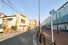 西武池袋線・富士見台駅前の様子。(2011-02-03,共用部,ENVIRONMENT,1F)