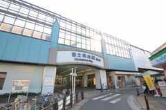 西武池袋線・富士見台駅の様子。(2011-02-03,共用部,ENVIRONMENT,1F)