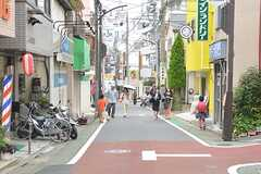 西武池袋線・富士見台駅周辺の商店街の様子。(2016-06-22,共用部,ENVIRONMENT,1F)