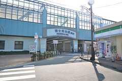 西武池袋線・富士見台駅の様子。(2015-10-19,共用部,ENVIRONMENT,1F)