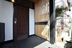 玄関ドアの様子。(2019-01-25,周辺環境,ENTRANCE,1F)