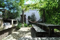 庭の様子2。(2013-09-02,共用部,OTHER,1F)