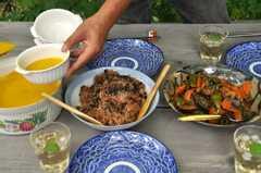 ときどき、庭で食事をします。(2013-09-10,共用部,OTHER,1F)