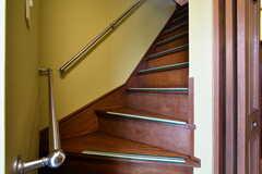 階段の様子。(2018-02-21,共用部,OTHER,1F)