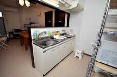 シェアハウスのキッチンの様子。(2009-01-23,共用部,KITCHEN,1F)