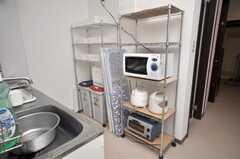 キッチン家電の様子。(2009-01-23,共用部,KITCHEN,1F)