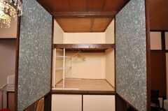 専有部の様子6。収納の様子。(104号室)(2009-01-23,専有部,ROOM,1F)