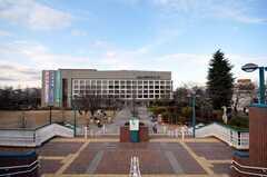 各線練馬駅前の練馬文化センター。(2009-01-23,共用部,ENVIRONMENT,1F)