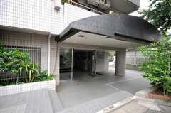 マンションの正面玄関。(2009-05-19,周辺環境,ENTRANCE,1F)
