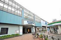 西武池袋線富士見台駅の様子。(2009-05-19,共用部,ENVIRONMENT,1F)
