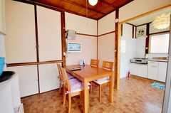 シェアハウスのラウンジの様子2。(2009-08-24,共用部,LIVINGROOM,2F)