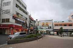 西武池袋線・江古田駅前の様子。(2013-09-26,共用部,ENVIRONMENT,1F)