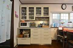 食器棚の様子。(2015-02-12,共用部,LIVINGROOM,1F)