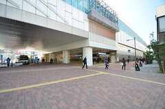 西武池袋線・石神井公園駅の様子。(2015-02-12,共用部,ENVIRONMENT,1F)