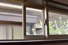 換気用の窓の様子。(2018-07-24,共用部,OTHER,1F)